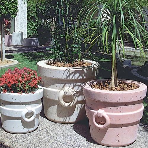 Concrete Tucson Pot Pots Planters Lots Of Sizes Durable Ships