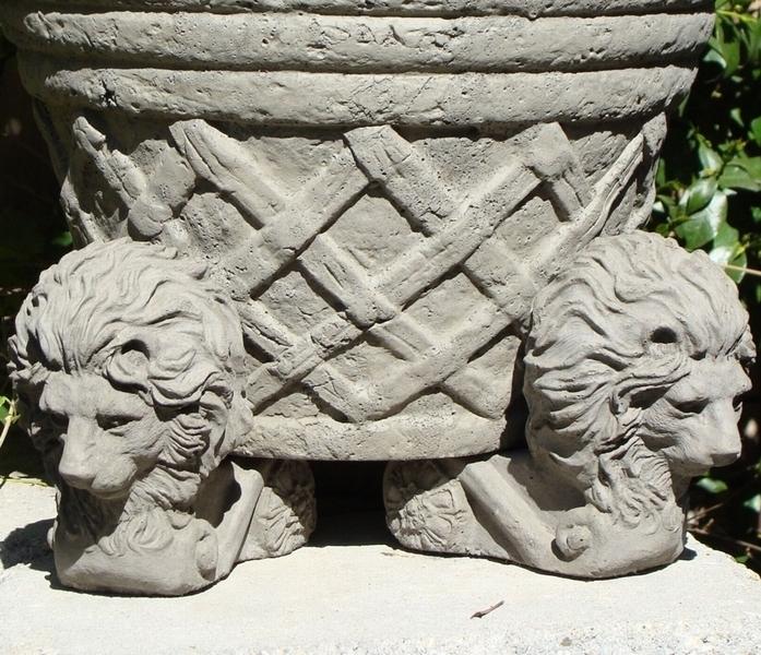 Lion Pot Feet Arizona Pottery Pot Feet Concrete Pot
