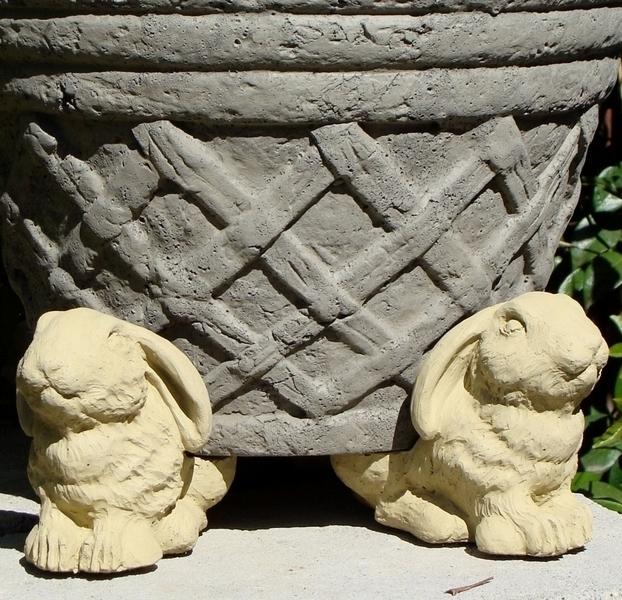 Rabbit Pot Feet Animal Pot Feet Concrete Pot Feet Home And Garden Pot Feet Arizona