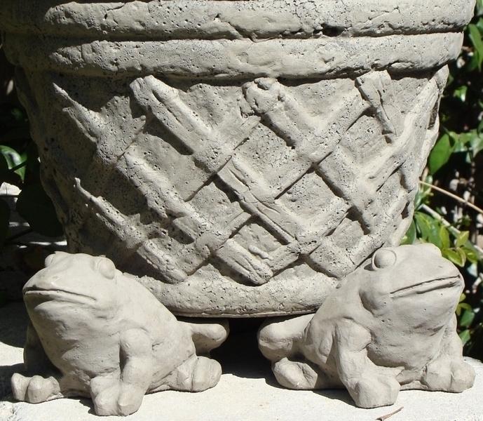 Frog Pot Feet Concrete Pot Feet Home And Garden Pot