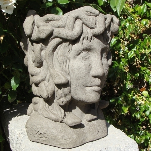 Concrete Medusa Head Planter Planters And Flower Pots Arizona Pottery