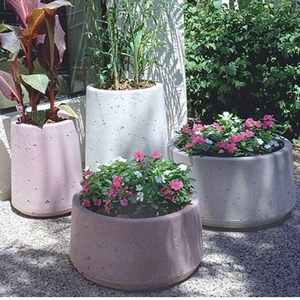 Concrete Mesa Pot - Concrete Garden Pottery & Pots | Made in America | Ships Nationwide | Arizona Pottery