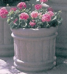 Concrete Tuscany Pot - Concrete Tuscany Planters & Pots |  Lots of Styles & Sizes | 12 Colors | Ships across America | Durable Concrete Pottery