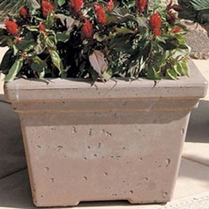 Concrete Roma Square - Concrete Square Garden Planter & Pots | American Made | Ships Across the US | Durable Pottery!