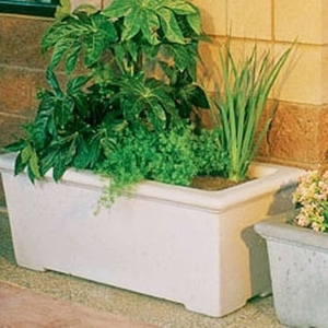 Concrete Classic Rectangle - Concrete Rectangle Garden Planters & Pots | Ships across the US | American Made | High Quality