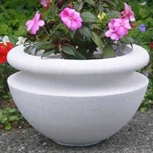 Sandstone Orchard Bowl - Sandstone Planters & Pots | Unusual Styles | 5 Colors | Ships Nationwide | American Made | Beautiful.