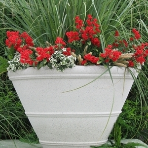 Sandstone Shaston Planter - Sandstone Planters & Pots | Large Sizes | Lots of Styles | American Made | Ships Nationwide
