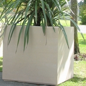 Sandstone Warwick Square - Large Square Sandstone Garden Containers & Planters | 5 Color Choices | Durable and High Quality.