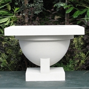 Frank Lloyd Wright Westcott Pergola Planter - Frank Lloyd Wright Flower Pots & Garden Containers  | Made in America | 5 colors | Ships Nationwide | Original Styles & Designs | Exclusive