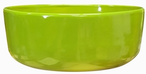 Color Bowl #46 Apple Green - Bright Glossy Apple Green Garden Bowl | Tabletop Pottery & Planters | Perfect for Succulents | High Shine Finish | Arizona Pottery | Ships Nationwide