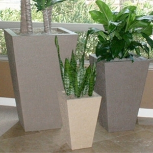 Concrete Oblique Vase - Concrete Tall Thin Vase | Home & Garden Pottery & Planters | Ships across the US.
