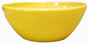 Garden Low Bowl #15 Yellow - Garden Bowls | High Shine Glossy Glaze | Colorful & Decorative Planters  | Perfect For Tabletop Display |  Many Sizes | Ships Nationwide | Arizona Pottery