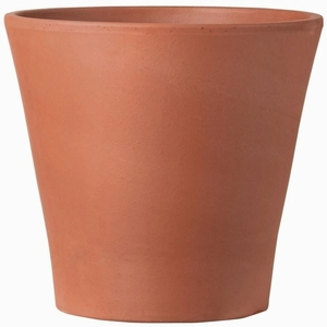 Italian Large Terracotta Cone Garden Pot - Red Clay Flowerpot | Made in Italy | Real Terracotta Clay | Garden Pot