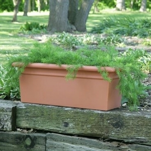 Poly Resin Rectangle Planter - Lightweight Rectangle Garden Planter | Made in America | Durable & Stylish Pottery & Containers | 32 Colors | Poly Resin by Arizona Pottery