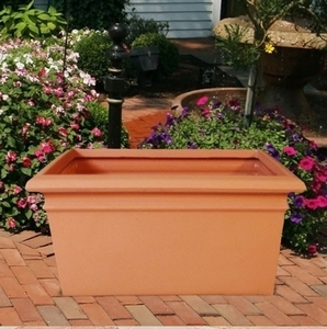 Poly Resin Low Profile Square - Lightweight Low Square Garden Planter | 32 Colors | Durable & Original Style | Perfect for Patio or Home | Made in America | Arizona Pottery