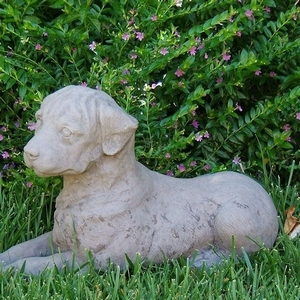 Concrete MW Dog Statue