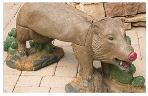 Decorative Garden Bench Javelina