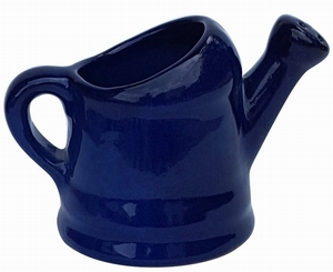 Watering Can Planter Blue