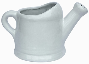 Watering Can Planter White