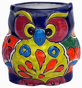 Talavera Owl Red Eyed