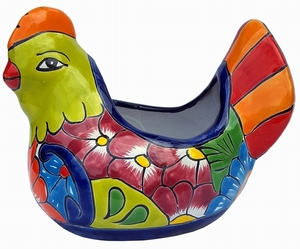 Talavera Mini Hen Lime