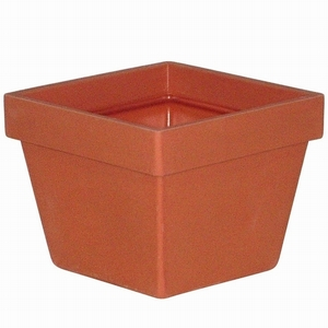 Poly Resin Short Square - Lightweight Garden Pottery | Commercial Grade Poly Resin Planters | 32 Colors | Made in America | Ships Nationwide  | Unique & Durable Flower Pots