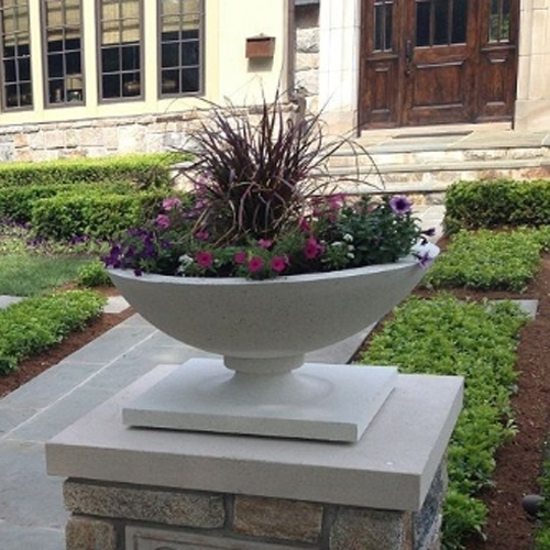 Frank Lloyd Wright Planters In Allen House Design
