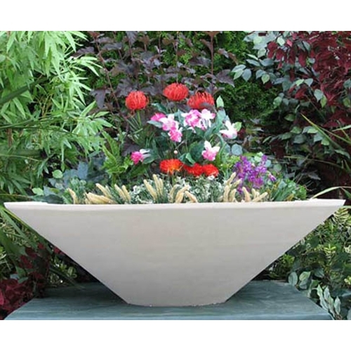 Sandstone Tapered Planter Bowl Home Amp Garden Pottery