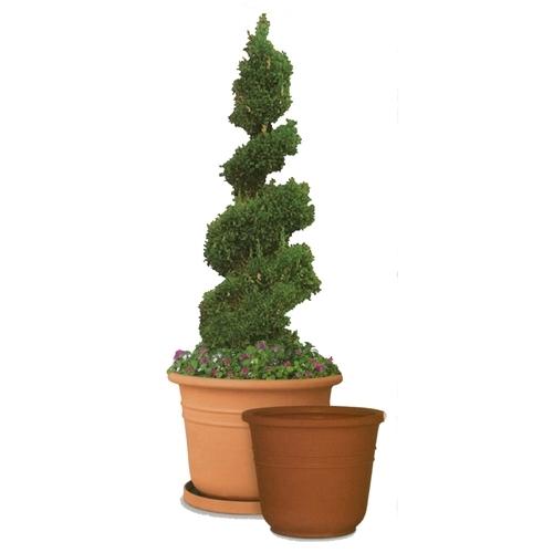 Poly Resin Bell Shaped Garden Planter Lightweight