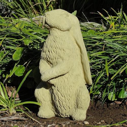 Animal Statues Concrete Vintage English Hare Statue