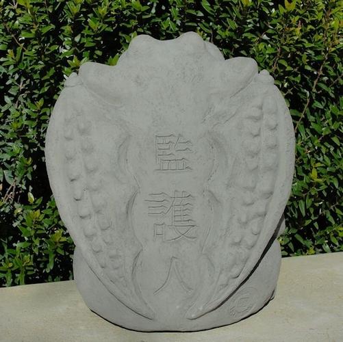 Animal Statues Concrete Meditating Gargoyle Garden Statue Terracotta Pots Wholesale Pots